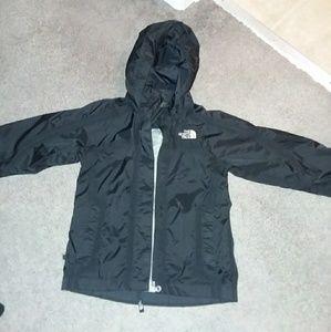 Kids size XS (6) North Face rain jacket